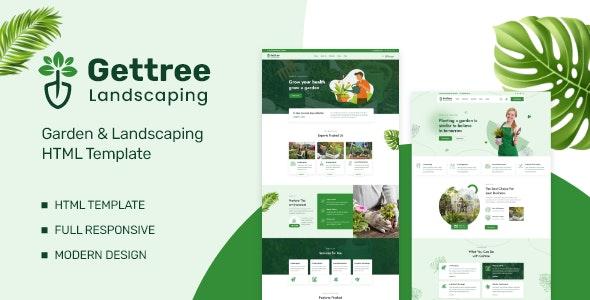 Gettree v1.0 – Garden & Landscaping HTML Template
