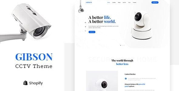 Gibson v1.0 – Single Product Shop Shopify Theme