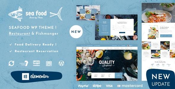 Pesce v1.3 – Seafood Restaurant WordPress Theme