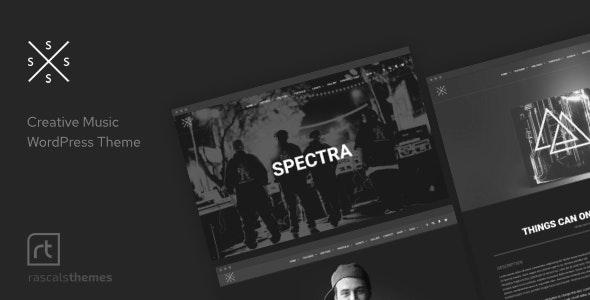 Spectra v2.6.1 – Music Theme for WordPress