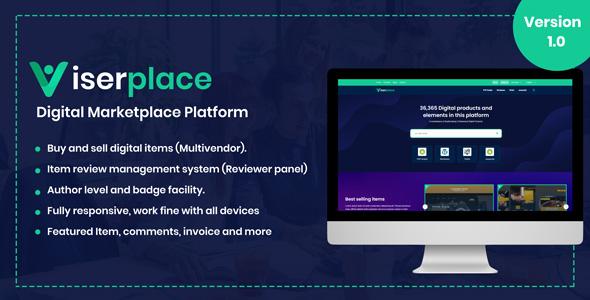ViserPlace v1.1 – Digital Marketplace Platform – nulled script
