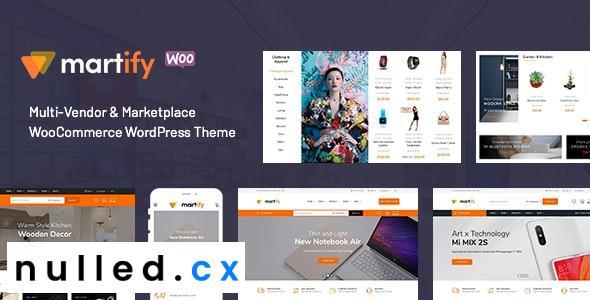 Martify v2.0.0 – WooCommerce Marketplace WordPress Theme