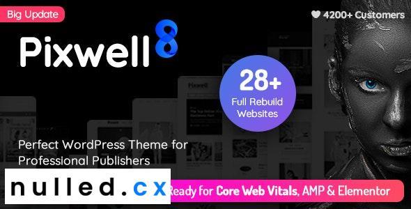 Pixwell v8.2 – Modern Magazine