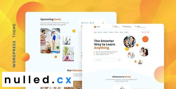Shelly v1.0.0 – School WordPress Theme